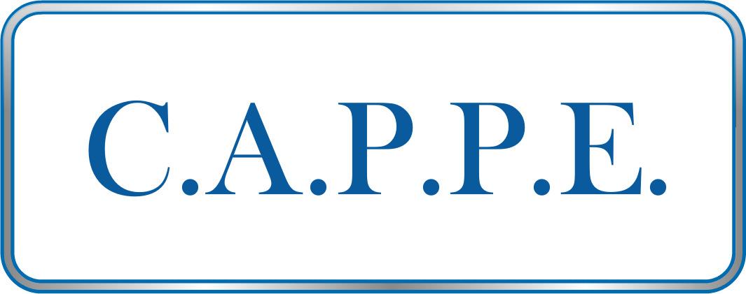 Logo de CAPPE, société de travaux en Fourniture et installation de lavabos, baignoires, douches, WC...