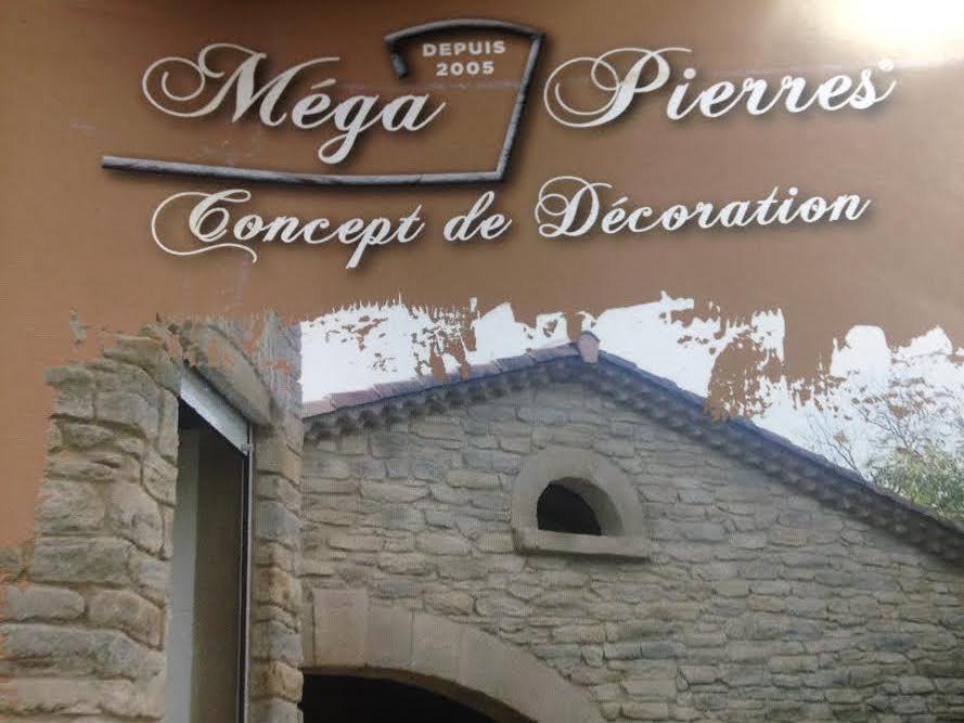 Logo de megapierre, société de travaux en Ravalement de façades