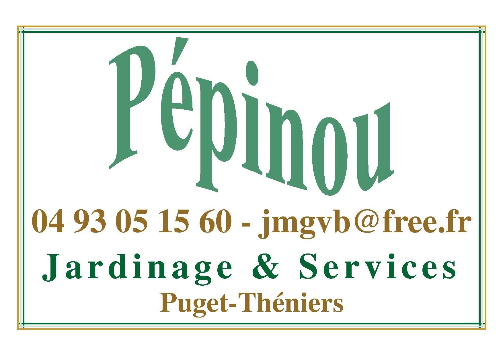 Logo de PEPINOU, société de travaux en Entretien de jardin (ponctuel ou à l'année)
