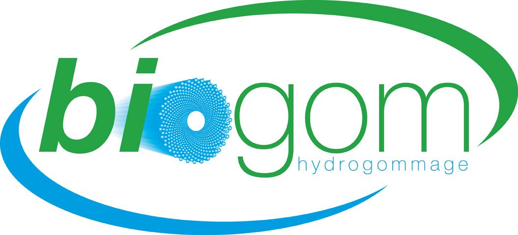 Logo de BIOGOM HYDROGOMMAGE, société de travaux en Construction de piscines