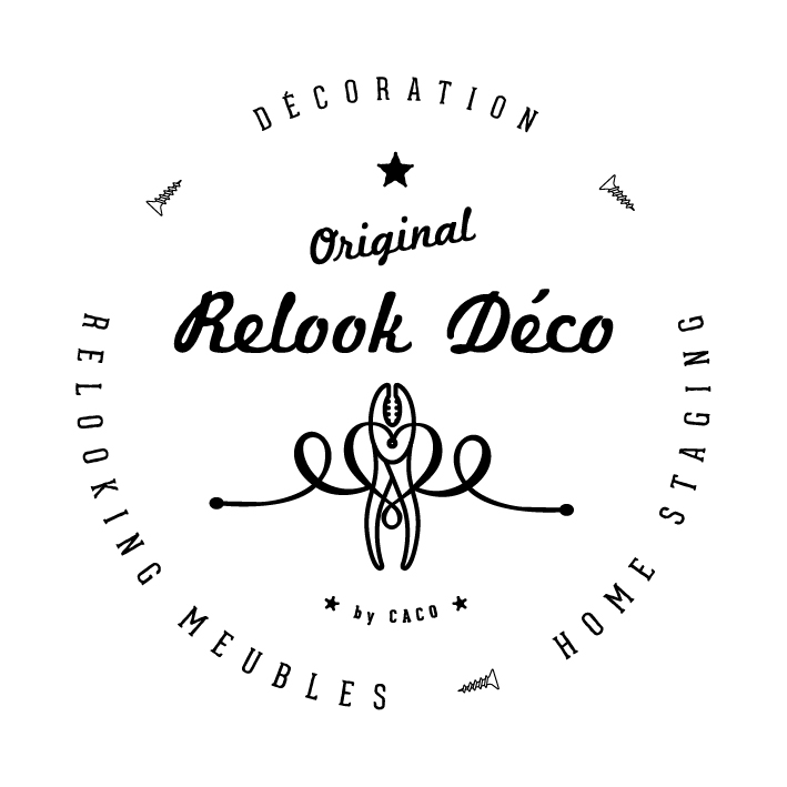 Logo de relook deco, société de travaux en Fourniture et pose de mobilier de bureau