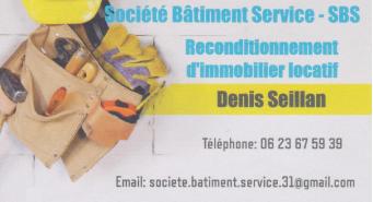 Logo de Société Bâtiment Service, société de travaux en Fourniture et assemblage de mobilier de cuisine