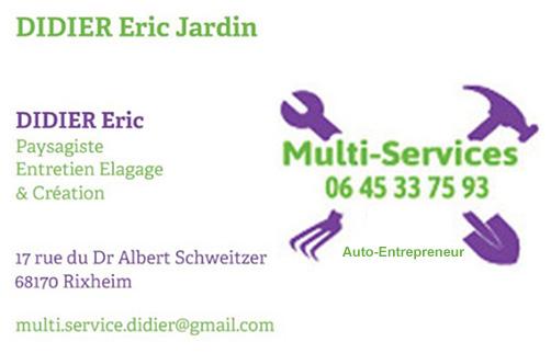 Logo de DIDIER JARDIN, société de travaux en Décoration jardin / patio / pergola / treillage / fontaine