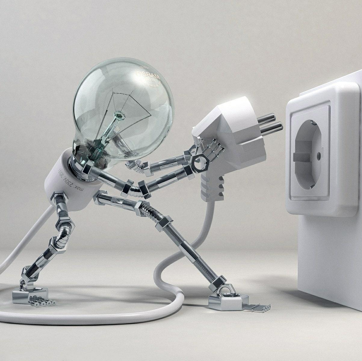 Logo de MaE électricité, société de travaux en Dépannage électrique