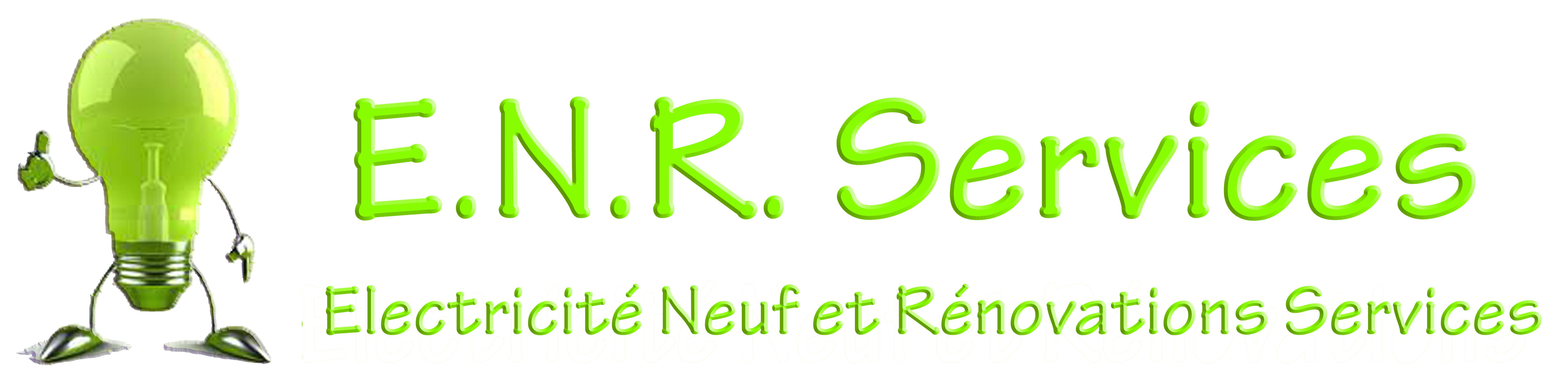 Logo de Electricité Neuf & Rénovation Services, société de travaux en Fourniture et installation d'un séche serviettes