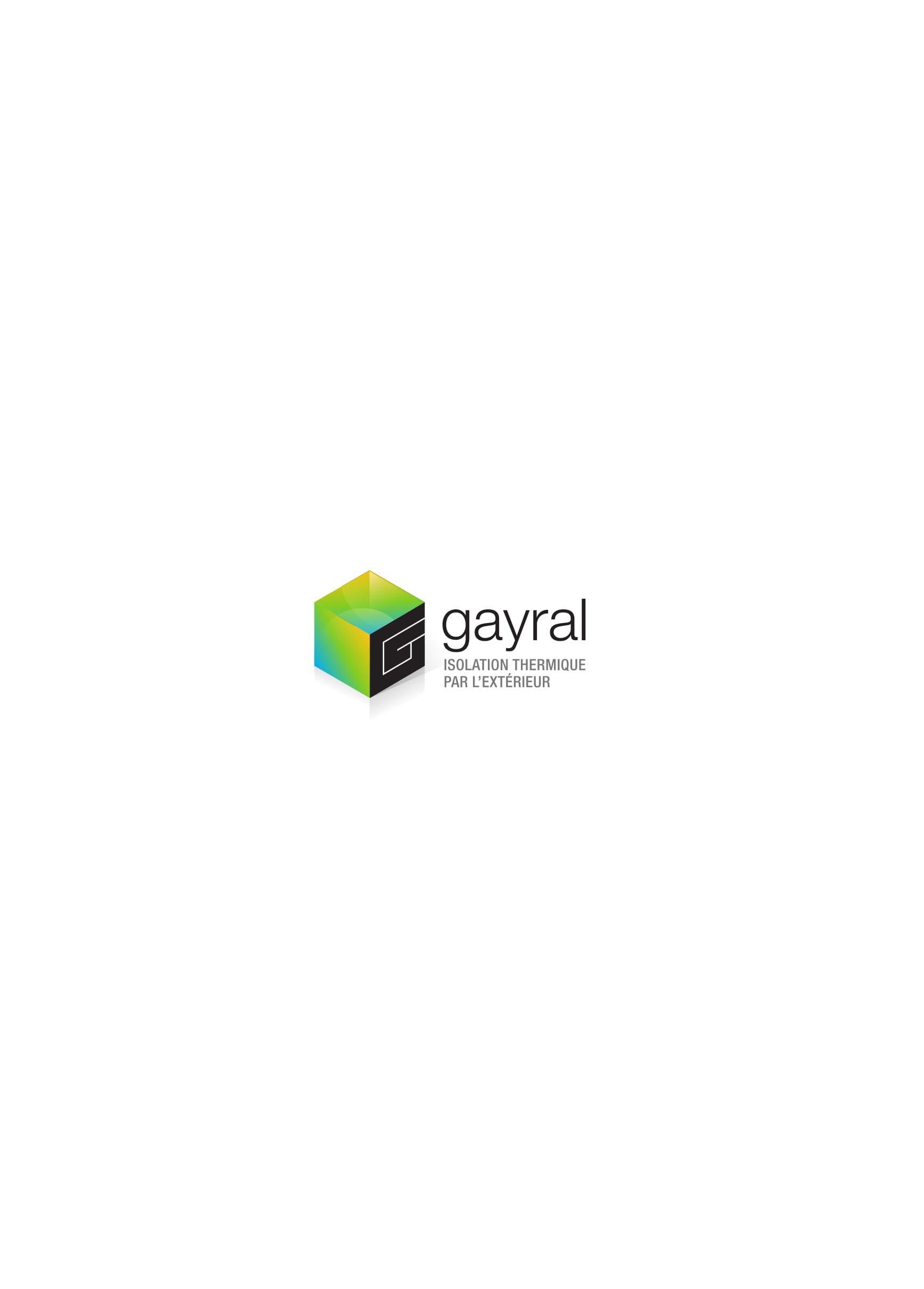 Logo de gayral isolation, société de travaux en Isolation thermique des façades / murs extérieurs