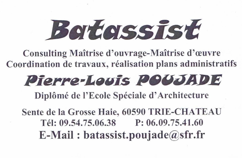 Logo de Batassist, société de travaux en Etude de chantier (avant-projet détaillé ou sommaire)