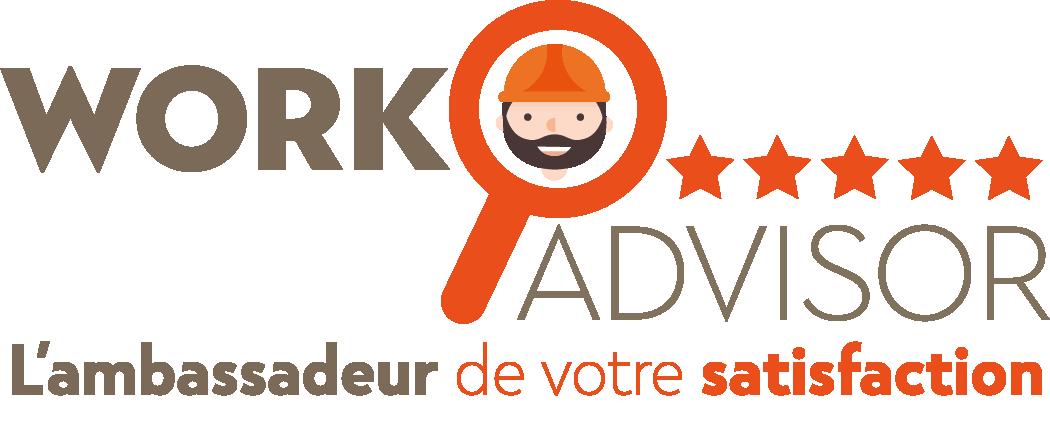 Logo de WorkAdvisor, société de travaux en Fourniture et pose de carrelage