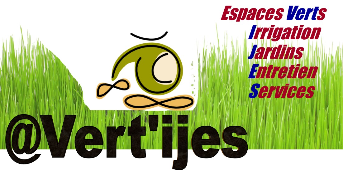 Logo de @Vert'ijes, société de travaux en Arrosage automatique (création)