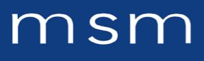 Logo de MSM, société de travaux en Fourniture et pose de stores intérieur