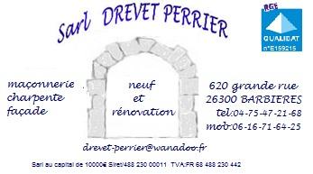 Logo de SARL DREVET PERRIER, société de travaux en Isolation thermique des façades / murs extérieurs