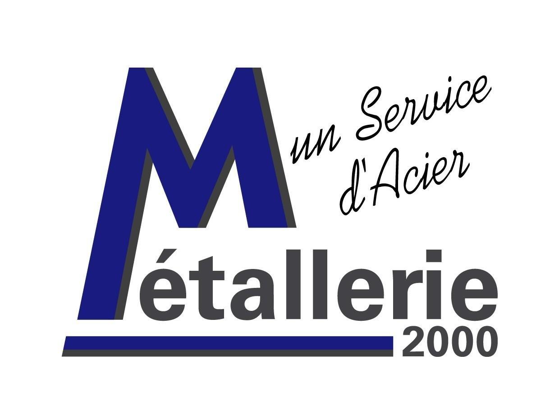 Logo de METALLERIE 2000 SARL, société de travaux en Fourniture et pose d'un escalier métallique