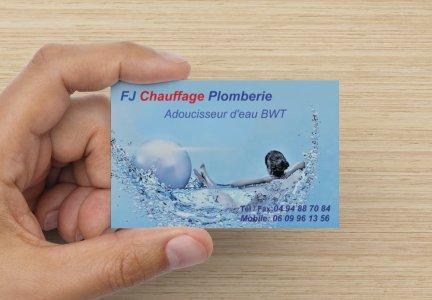 Logo de FJ CHAUFFAGE PLOMBERIE, société de travaux en Fourniture et installation d'un séche serviettes