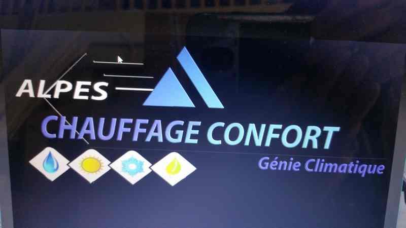 Logo de Alpes chauffage confort, société de travaux en Travaux de plomberie salle de bains