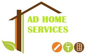 Logo de AD HOME SERVICES, société de travaux en Fourniture et remplacement de porte ou fenêtre en PVC