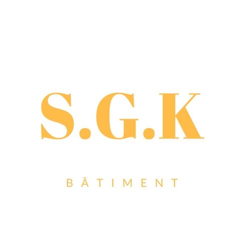 Logo de SGK BÂTIMENT, société de travaux en Construction, murs, cloisons, plafonds en plaques de plâtre