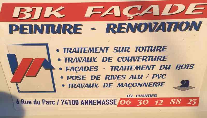 Logo de BJK FAÇADE, société de travaux en Ravalement de façades