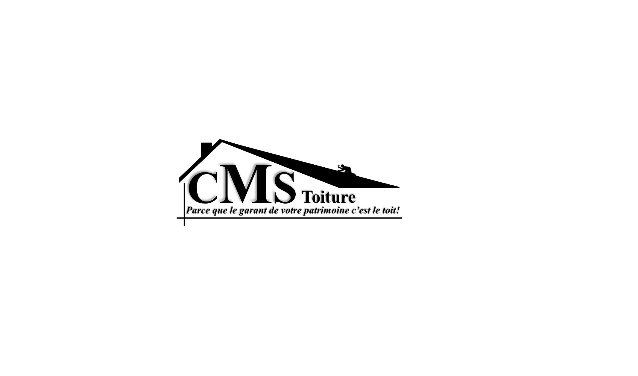 Logo de cms toiture, société de travaux en Rénovation ou changement de votre couverture de toit