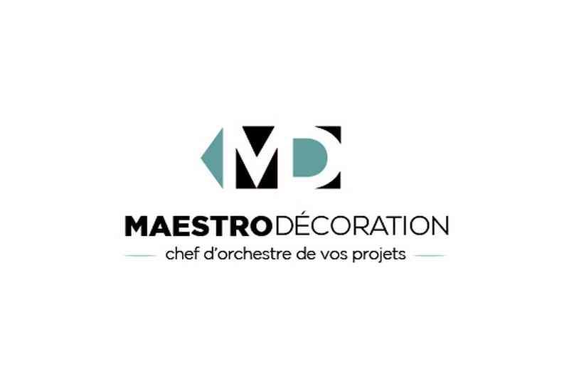 Logo de Maestro Decoration, société de travaux en Construction, murs, cloisons, plafonds en plaques de plâtre