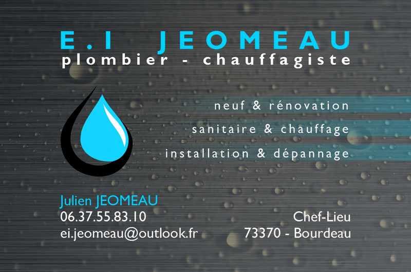 Logo de EI JEOMEAU, société de travaux en Travaux de plomberie salle de bains