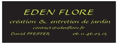Logo de Edenflore, société de travaux en Entretien de jardin (ponctuel ou à l'année)