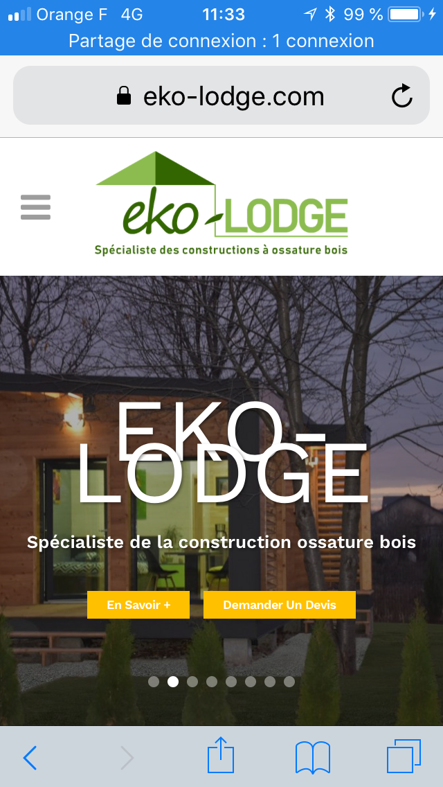 entreprise eko lodge professionnel du b timent en gironde nouvelle aquitaine. Black Bedroom Furniture Sets. Home Design Ideas