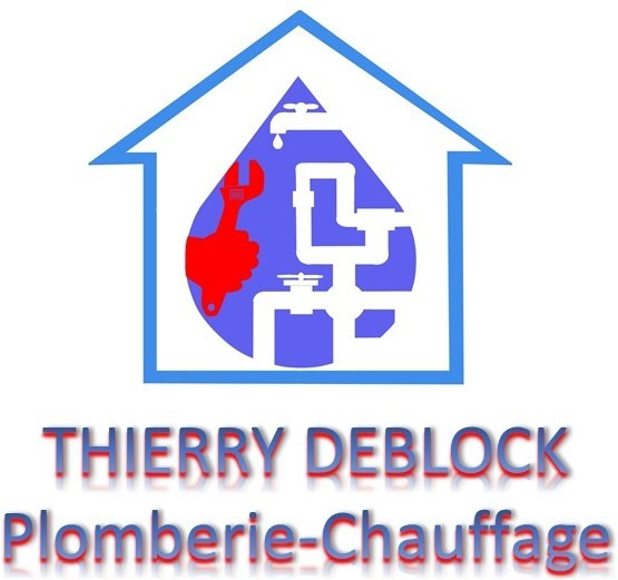 Logo de DEBLOCK THIERRY PLOMBERIE, société de travaux en Fourniture et installation de lavabos, baignoires, douches, WC...