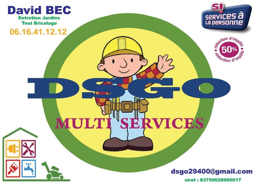 Logo de DSGO, société de travaux en Garages / Abris de jardin