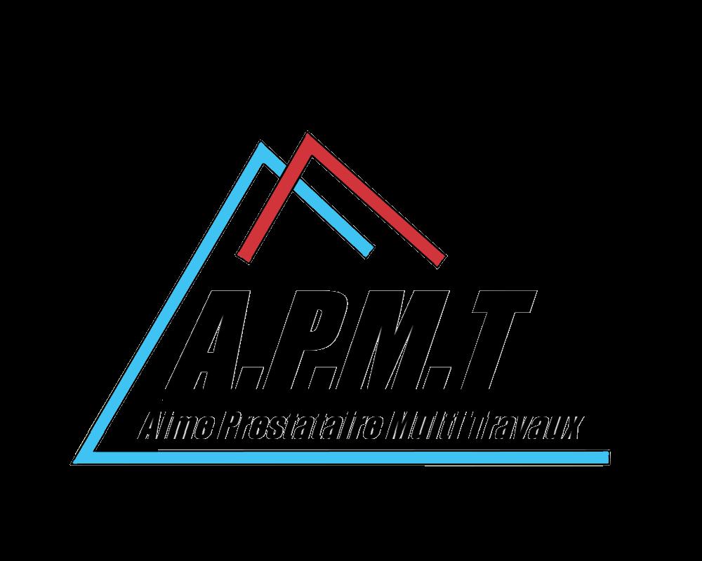 Logo de APMT, société de travaux en Construction, murs, cloisons, plafonds en plaques de plâtre