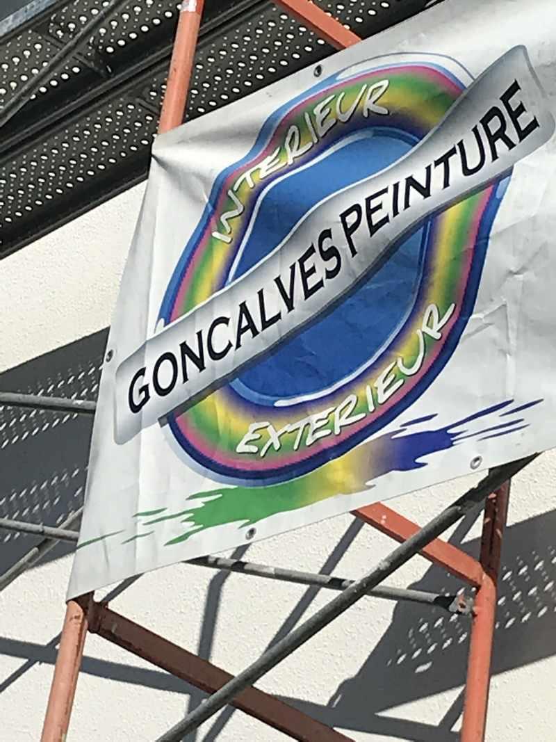 Logo de Goncalves peinture, société de travaux en Peinture : mur, sol, plafond