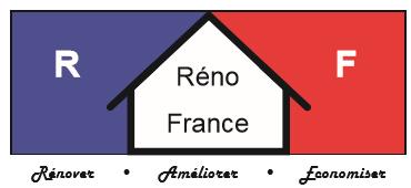 Logo de RENOFRANCE, société de travaux en Nettoyage de toitures - façades - bardages