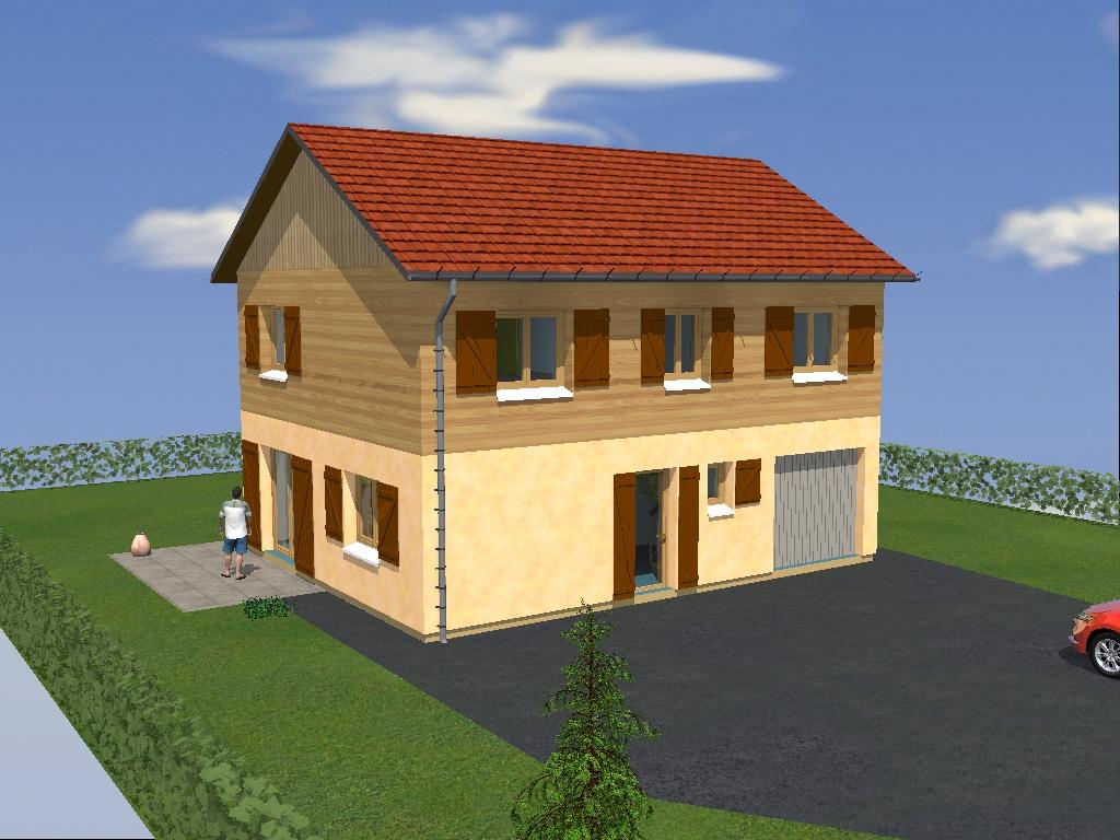 Logo de acc-bois, société de travaux en Construction de maison