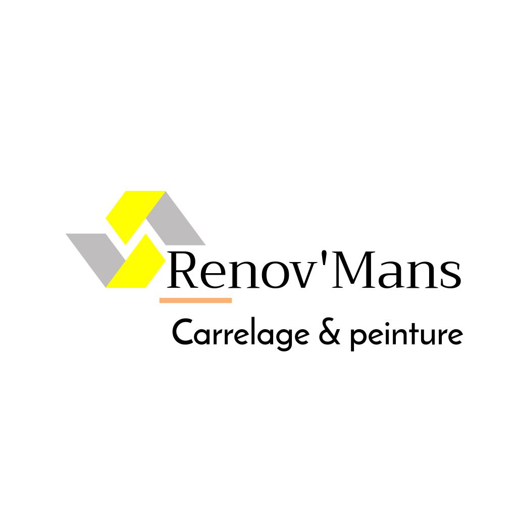 Logo de Renov'mans, société de travaux en Fourniture et pose de carrelage