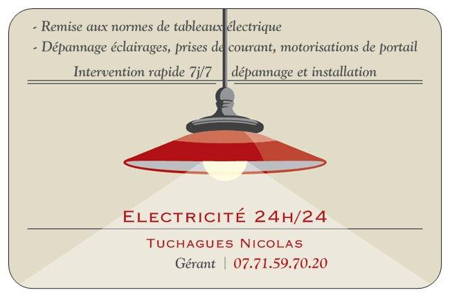 Logo de elec2424, société de travaux en Installation électrique : rénovation complète ou partielle