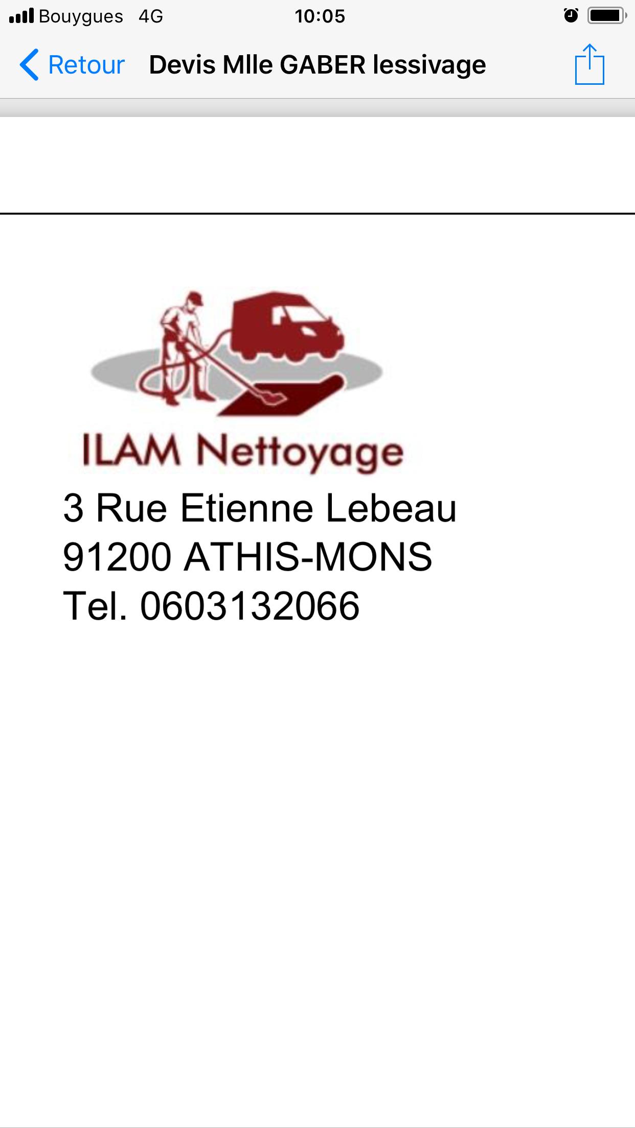 Logo de Ilam nettoyage, société de travaux en Nettoyage industriel