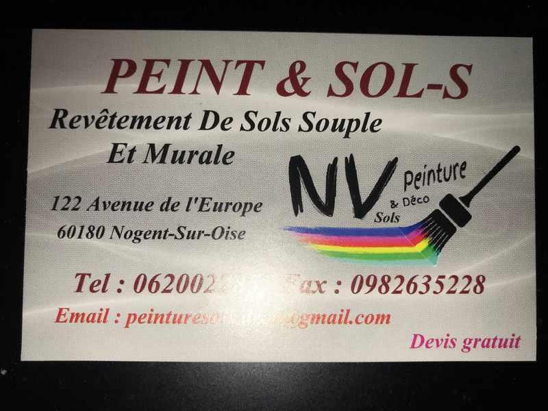 Logo de Peint & Sols, société de travaux en Construction & Rénovation de cloisons