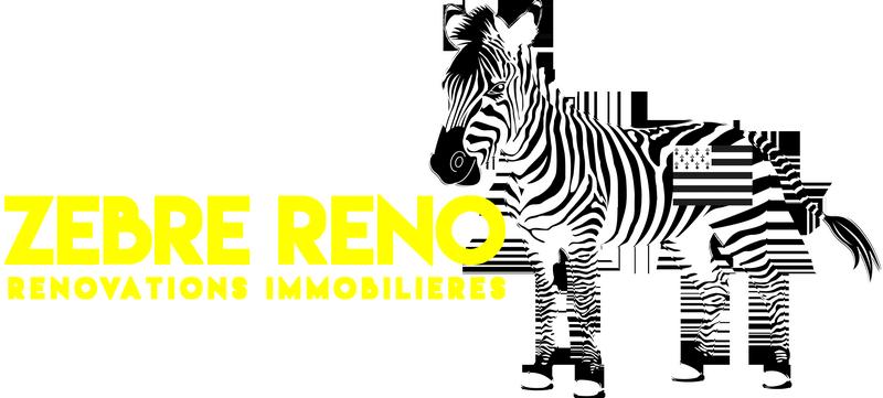 Logo de zebre réno, société de travaux en Rénovation complète d'appartements, pavillons, bureaux
