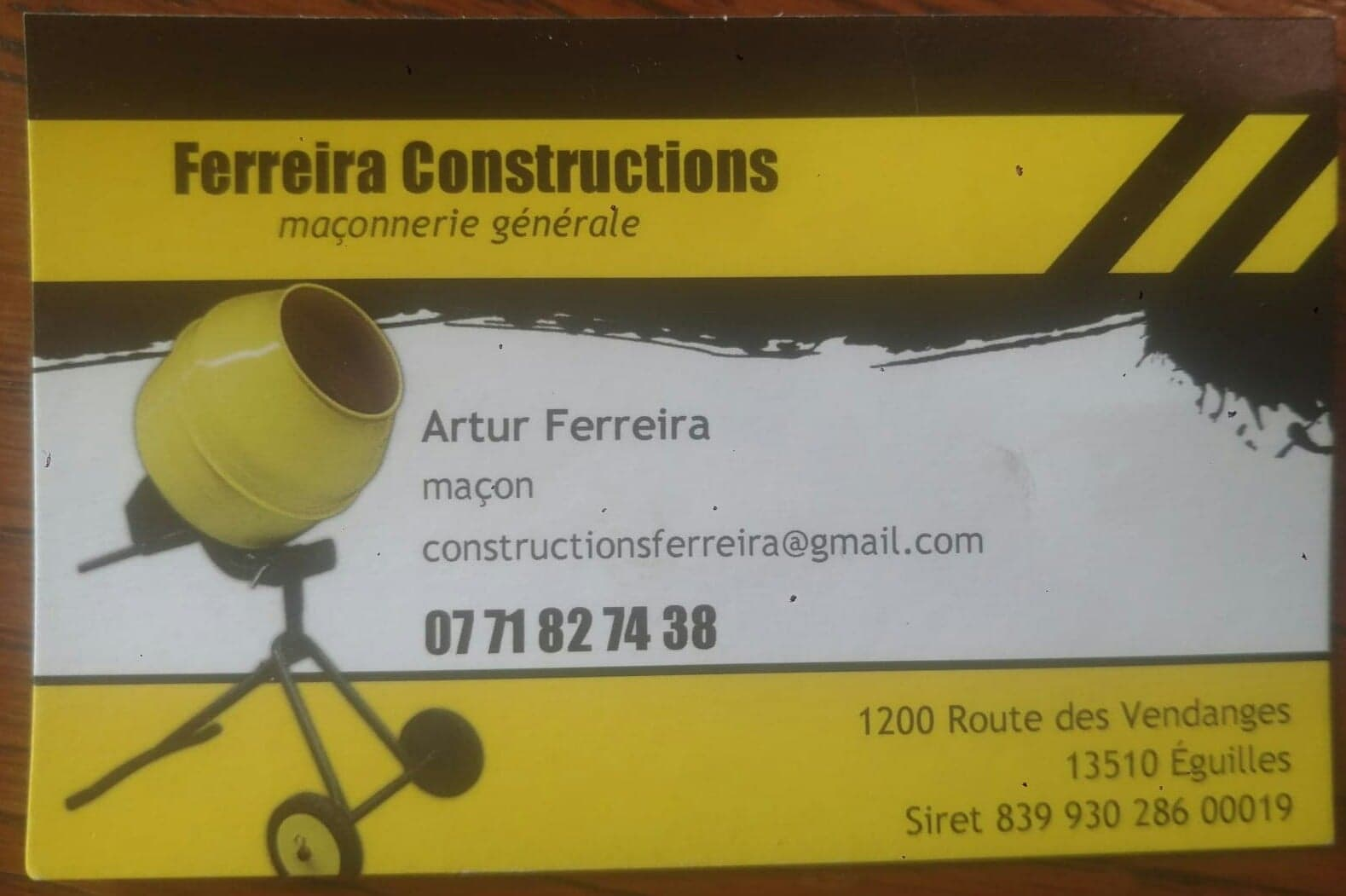 Logo de Artur António Avó Ferreira, société de travaux en Sur Elévation de toiture
