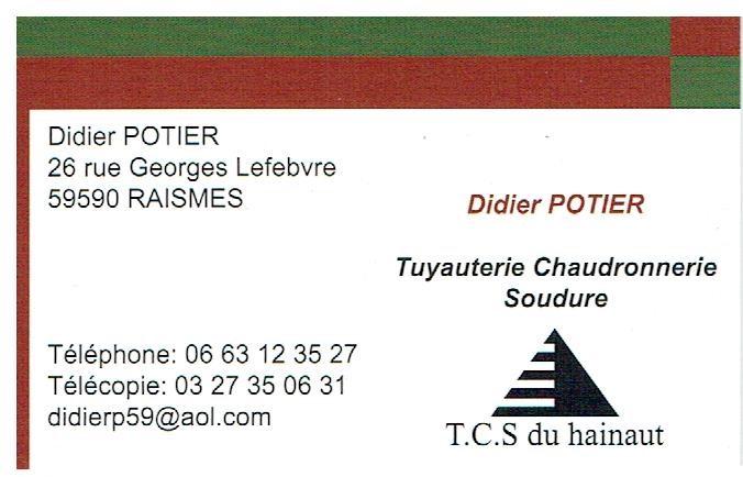 Logo de T.C.S du Hainaut, société de travaux en Portail : fourniture et installation