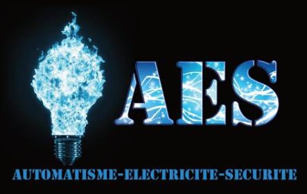 Logo de AES, société de travaux en Systèmes de motorisation pour portails automatiques