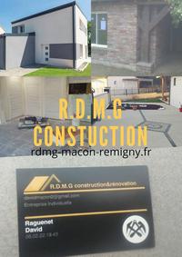 Logo de R.D.M.G construction, société de travaux en Construction, murs, cloisons, plafonds