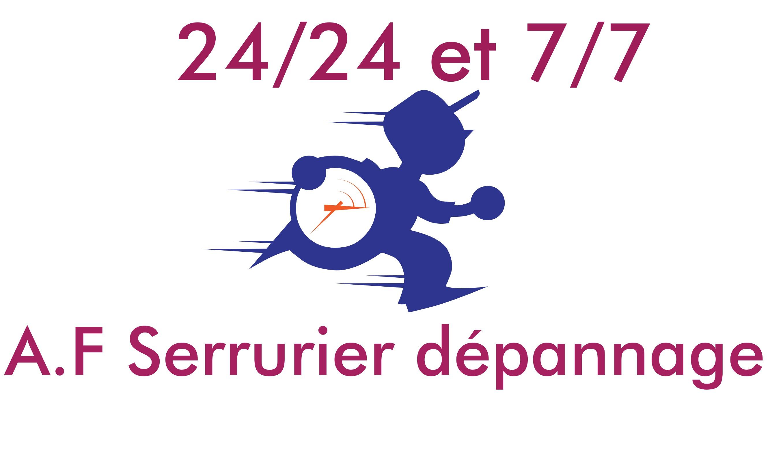 Logo de A.F serrurier d' urgence, société de travaux en Serrurier