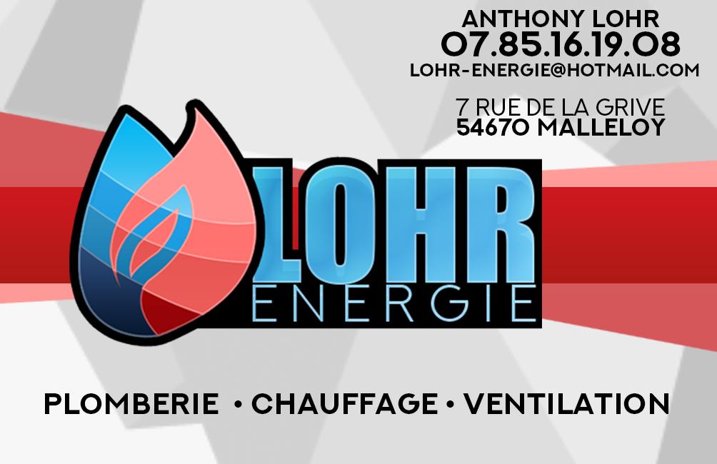 Logo de LOHR energie, société de travaux en Dépannage en plomberie : fuite, joints, petits travaux
