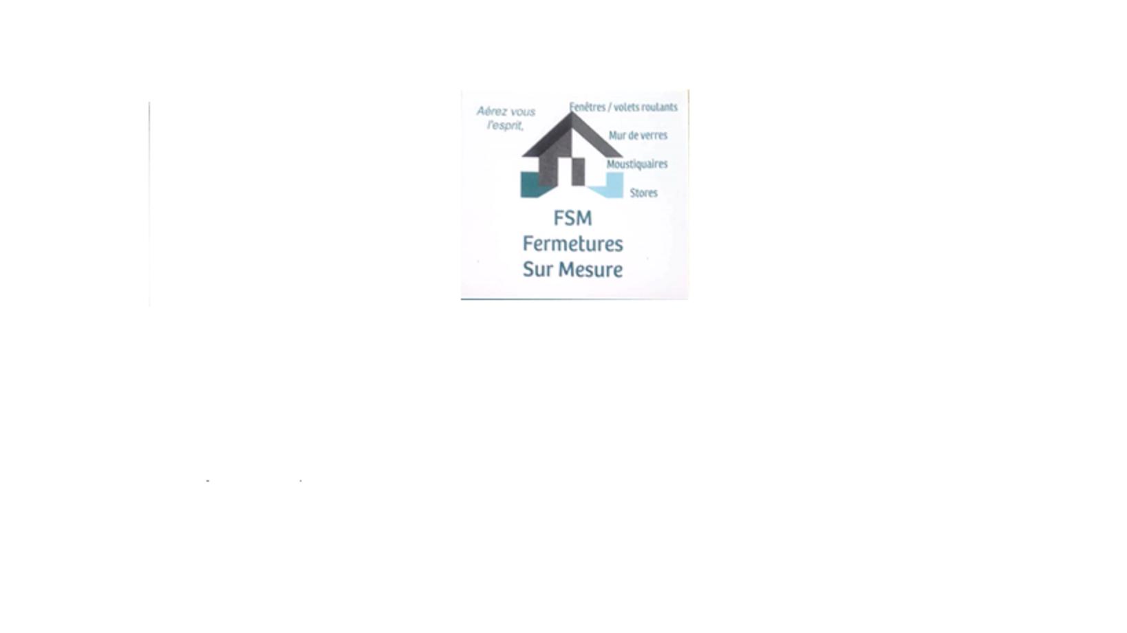 Logo de fermetures sur mesure, société de travaux en Fourniture et installation d'une ou plusieurs fenêtres
