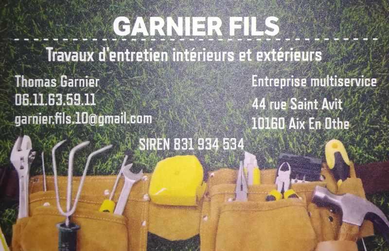 Logo de Garnier fils, société de travaux en Entretien de jardin (ponctuel ou à l'année)