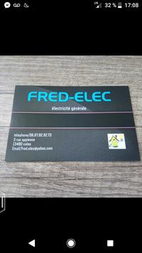 Logo de Fred-elec, société de travaux en Installation électrique : rénovation complète ou partielle