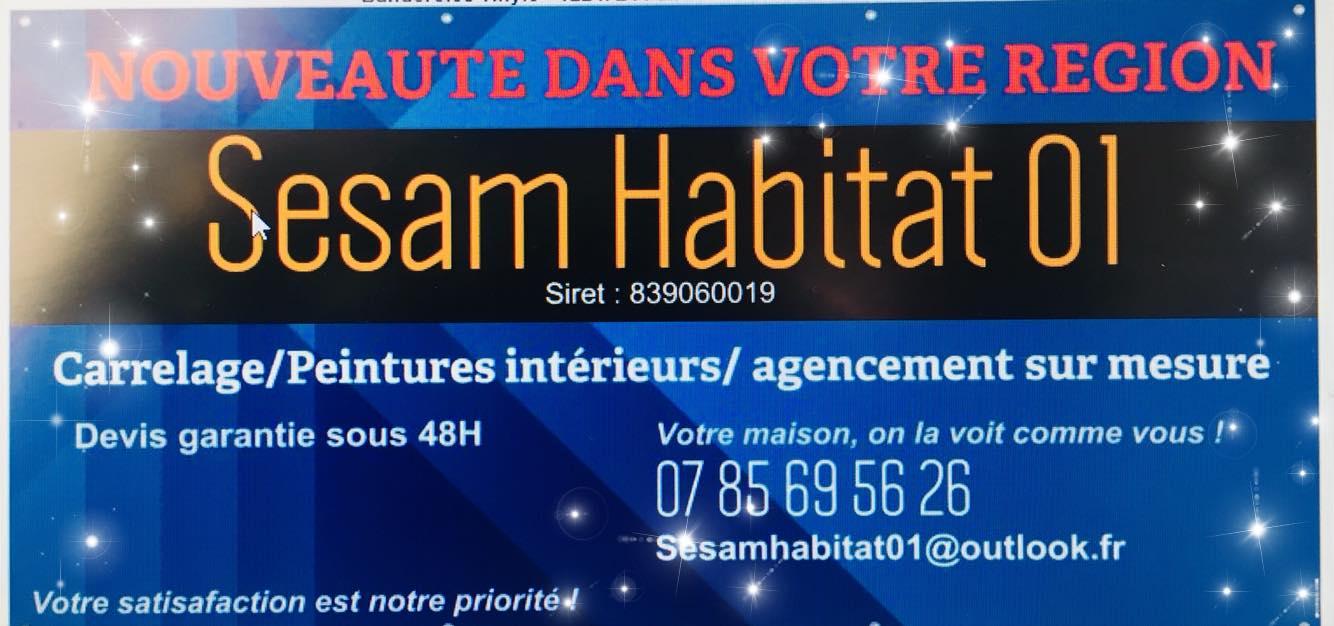 Logo de sesam habitat01, société de travaux en Cuisine : aménagement et réalisation
