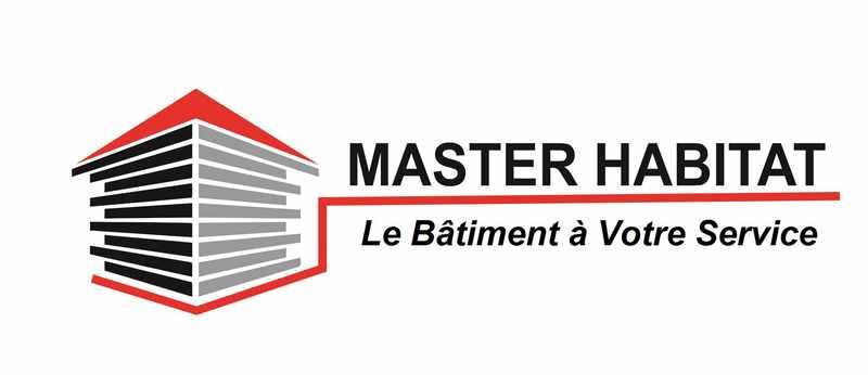 Logo de Master Habitat, société de travaux en Construction, murs, cloisons, plafonds en plaques de plâtre
