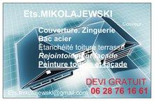 Logo de Ets.mikolajewski, société de travaux en Fourniture et pose d'isolation thermique dans les combles