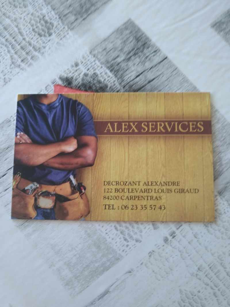 Logo de Alex services, société de travaux en Petits travaux de maçonnerie